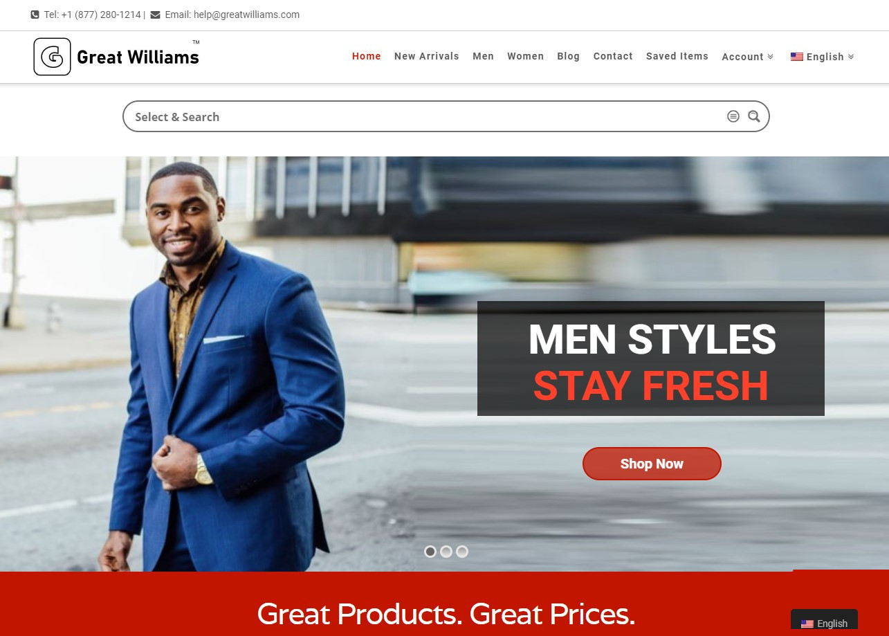 Greatwilliams.com